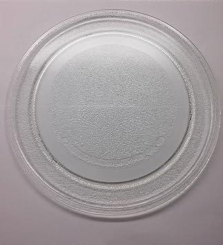 Plato Bandeja de cristal 24,5 cm horno a microondas mwd120 mdw122 mwd119 mwd121 mwd20