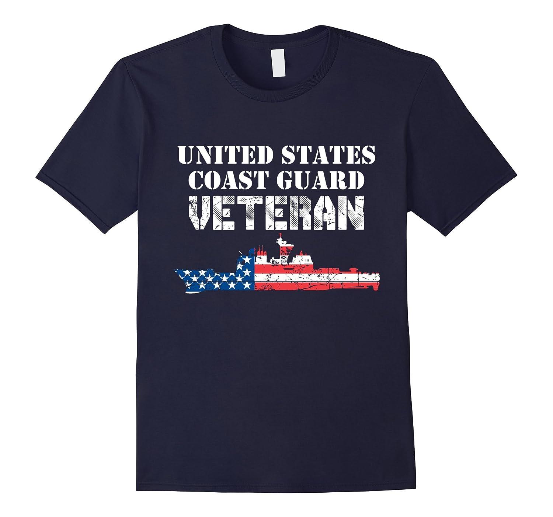 Boat United States Coast Guard Veteran T-shirt-Art