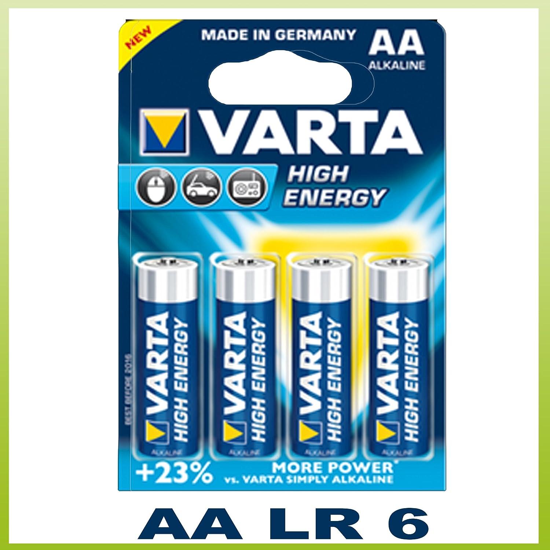 3er Pack Varta Highenergy Alkali Batterie Mignon Aa Elektronik
