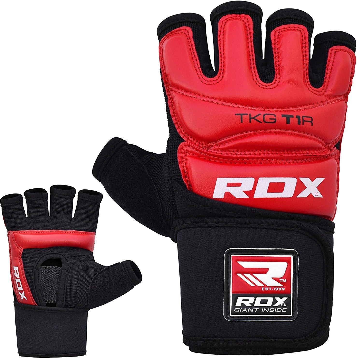 RDX Taekwondo WTF Guantes Entrenamiento Karate TKD Artes Marciales Sparring Combat Grappling Protecci/ón Las Manos