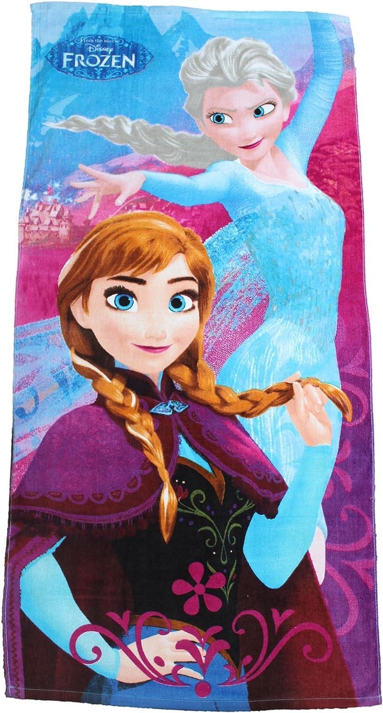 Toalla de playa de Frozen de Disney Anna y Elsa grande por BestTrend®: Amazon.es: Hogar