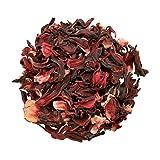 Organic Dried HIBISCUS Flowers Loose Leaf Herbal Tea Grade *A* Premium Quality! Soil Association Certified FREE P&P (100g)