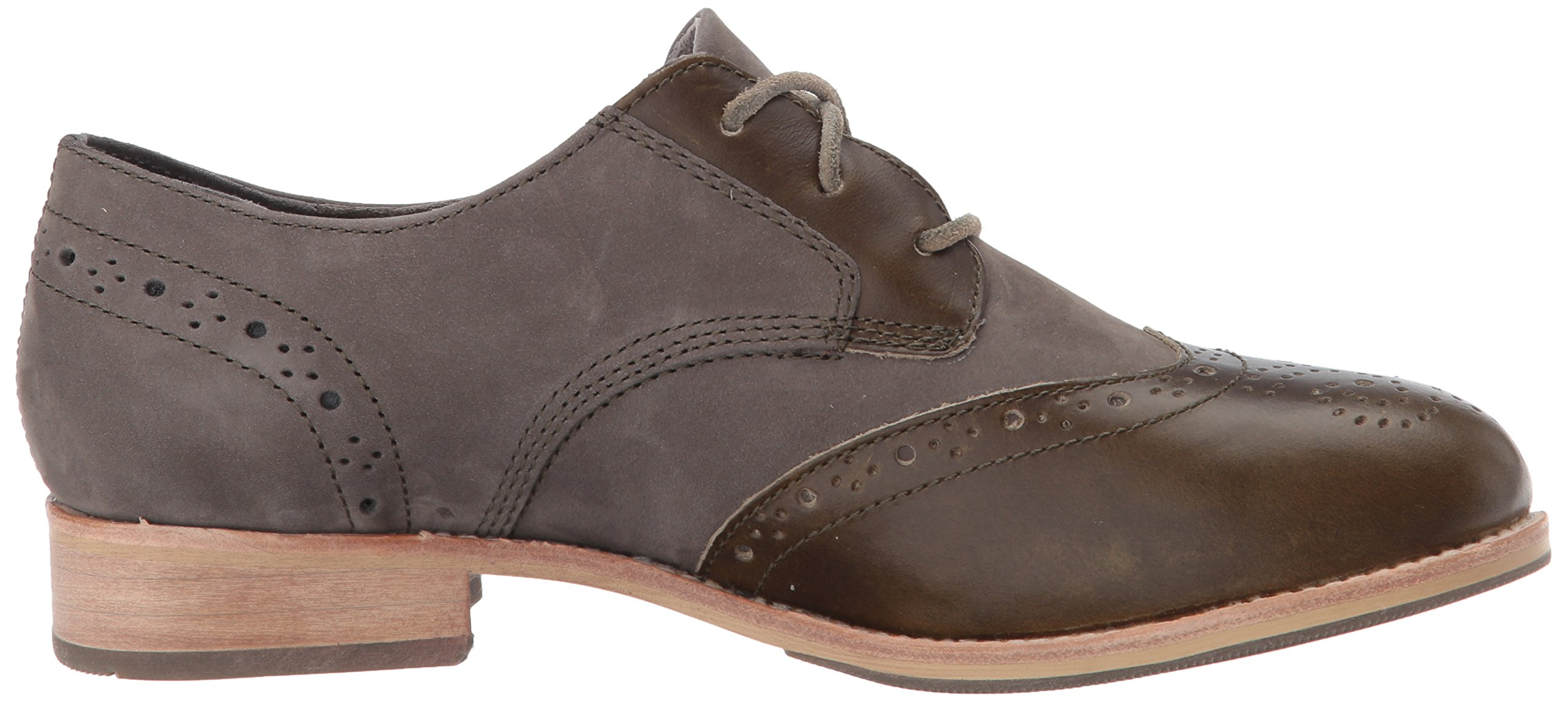 Caterpillar Women's Reegan II Lace up Leather Oxford, Olive, 5.5 Medium US by Caterpillar (Image #7)