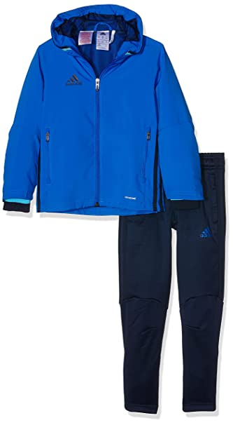 adidas CONDIVO16 JUNIOR Kinder Trainingsjacke Blau | O46