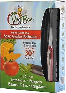 """VegiBee Garden Pollinators VBP-01 Rechargeable Plant pollinator, 10"""", Red"""