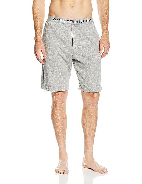 Cotton short icon - Pantalones de pijama para hombre, color navy blazer-pt 416, talla XL Tommy Hilfiger