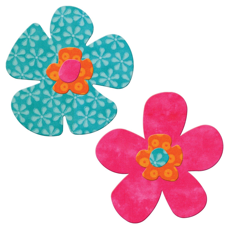 AccuQuilt Go Fabric Cutting Dies, Funky Flower 550-42