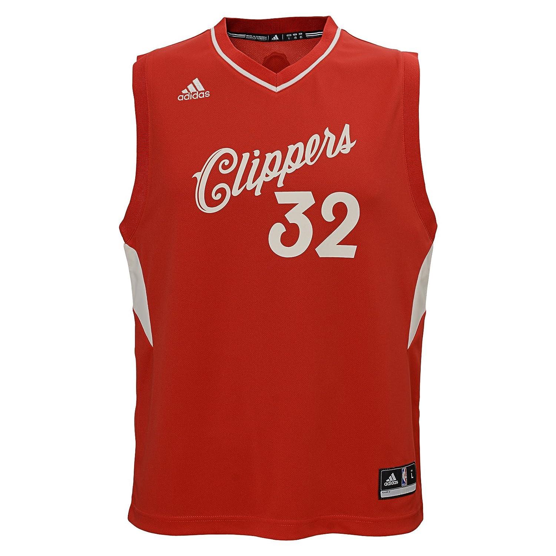 Adidas Blake Griffin # 32 Los Angeles Clippers 2015 – 2016クリスマス日NBAレプリカジャージー、レッド、ユースサイズ Medium  B00GTL934I