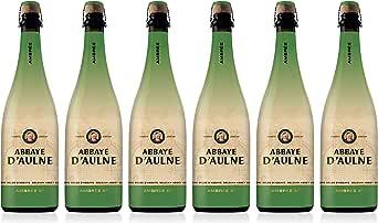 Abbaye DAulne - Cerveza de Abadia Belga Ambrée - Pack de 6 Botellas de 75 cl: Amazon.es: Alimentación y bebidas