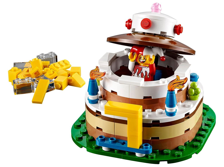 LEGO Birthday Decoration Cake 40153 Image 2
