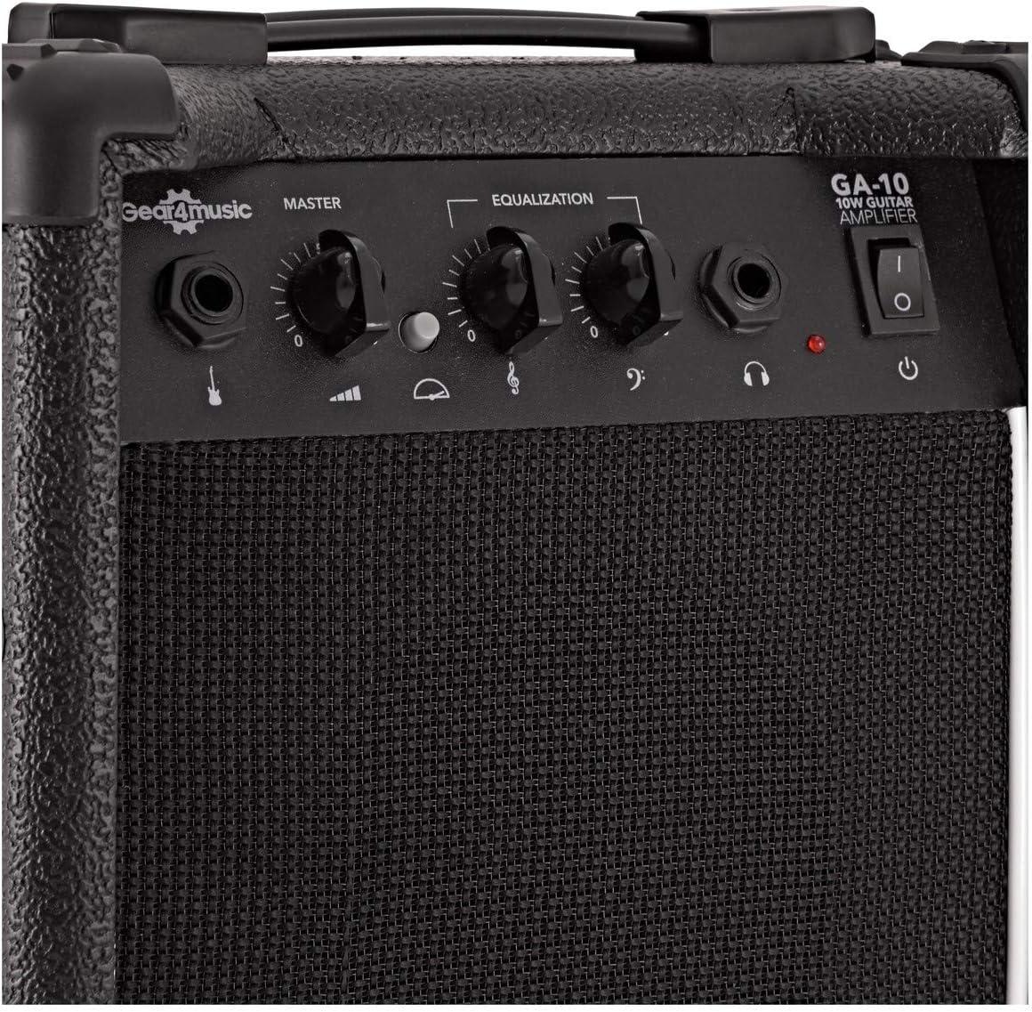 Amp Pack 3//4 LA Electric Guitar Pink