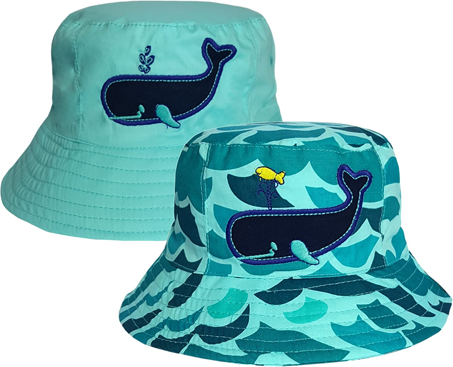 Raintopia Childrens Whale /& Wave Bucket Hat