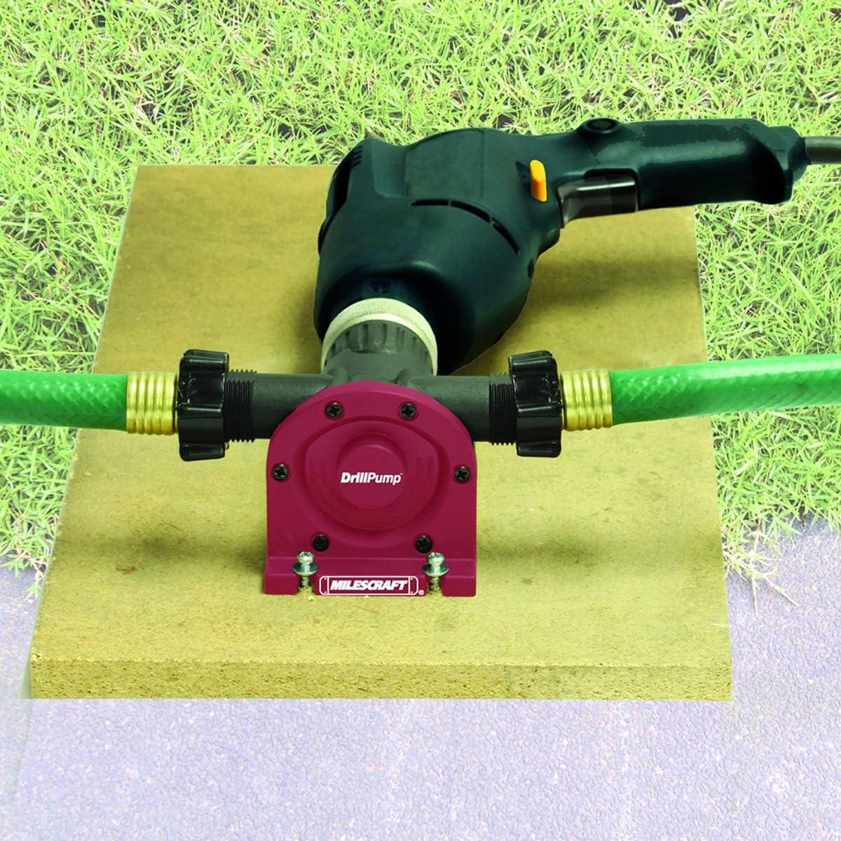 Milescraft 1314 DrillPump750 - Self Priming Water Transfer Pump: Home Improvement