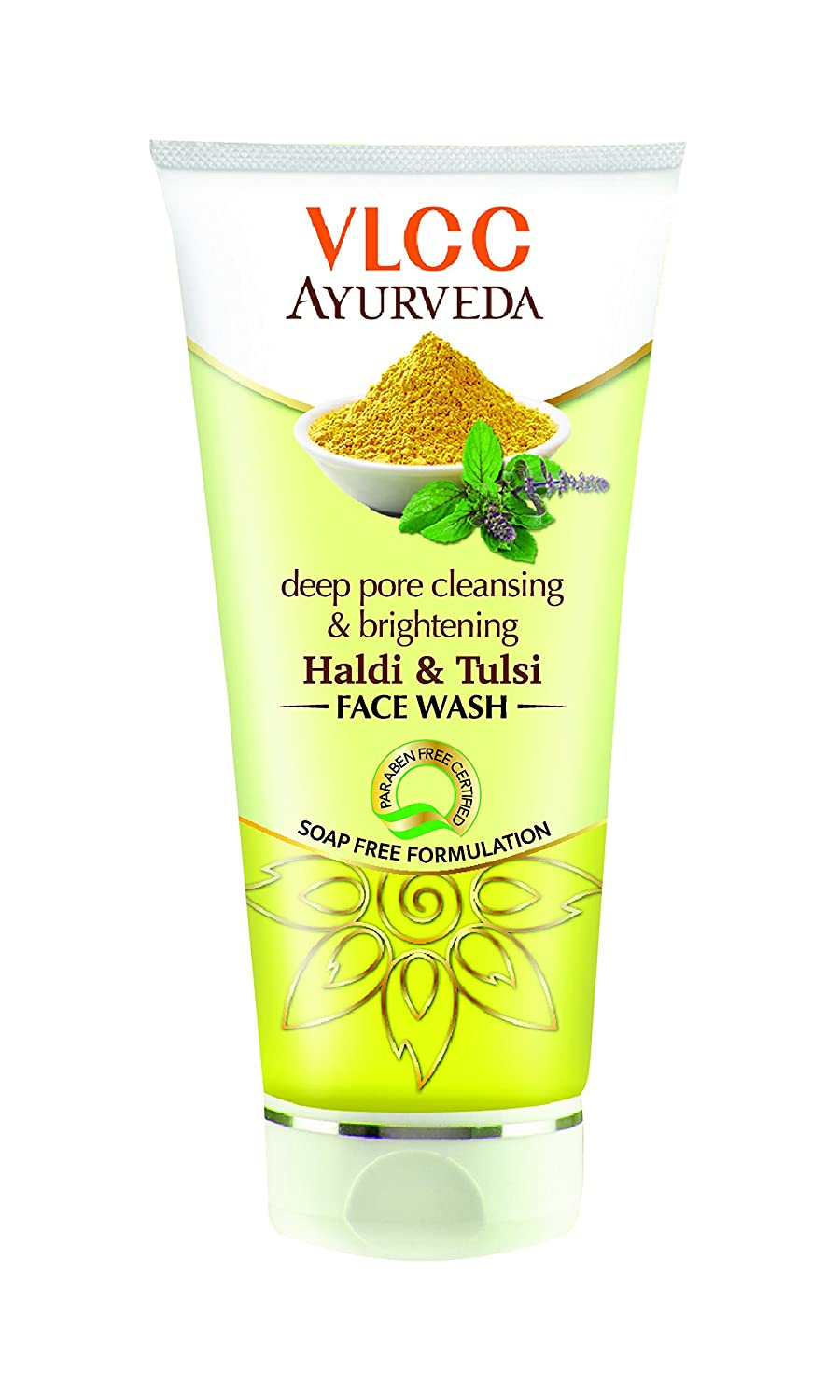VLCC Ayurveda Deep Pore Cleansing & Brightening Haldi And Tulsi Face Wash-0