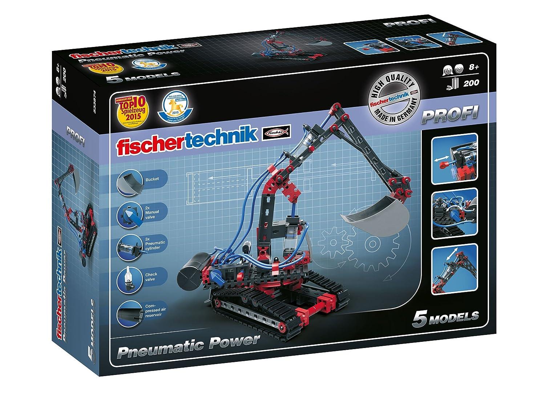 Fischertechnik Pneumatic Power Kit de construcción modelos piezas