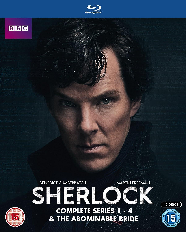 Sherlock - Series 1-4 & Abominable Bride Box Set [Reino Unido] [Blu-ray]