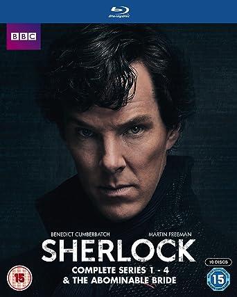 Sherlock - Series 1-4 & Abominable Bride Box Set Blu-ray 2016