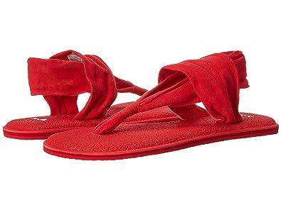 Sanuk Womens Yoga Sling 2 Spectrum Flip-Flop (5 B(M) US ...