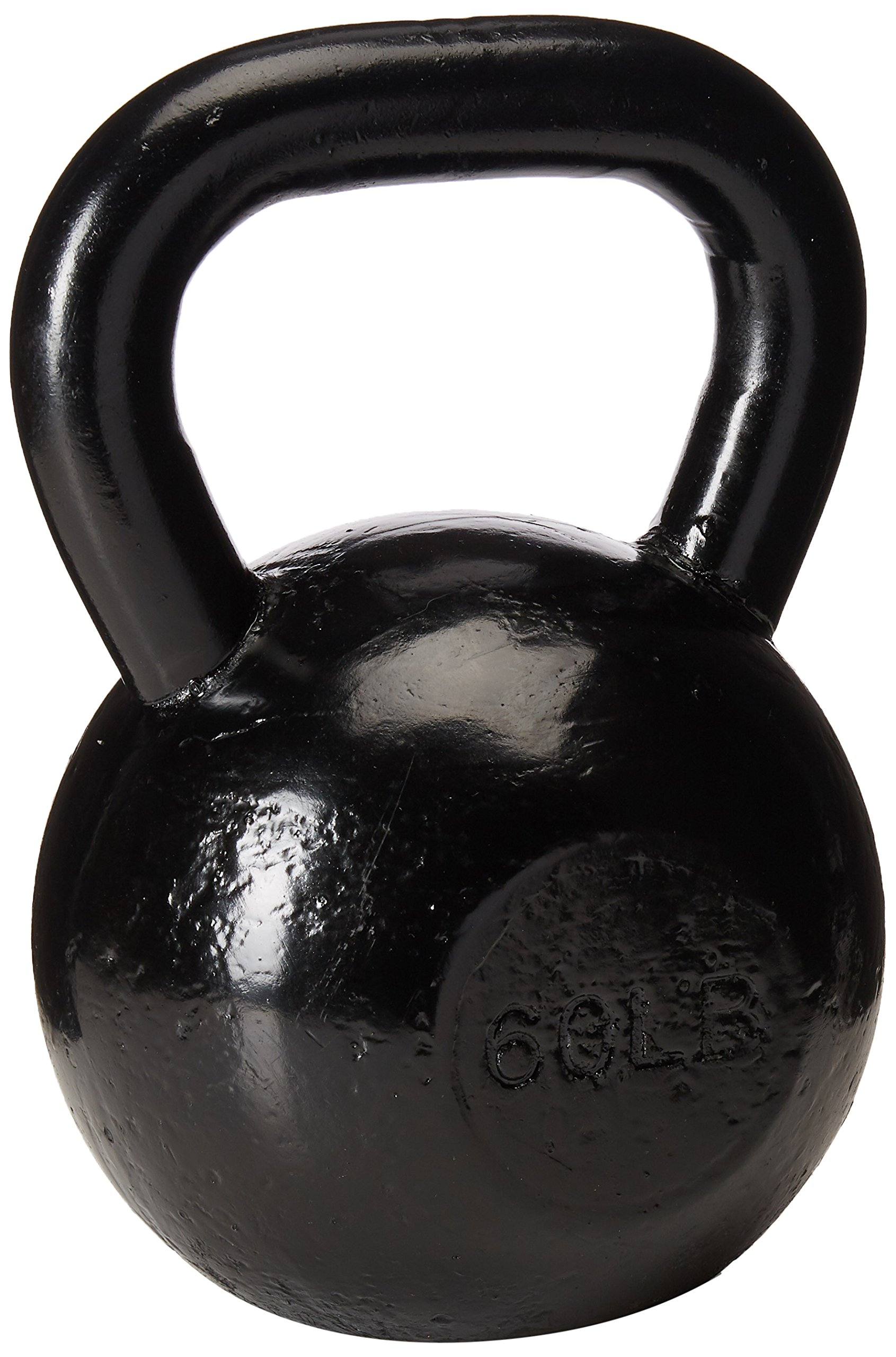 Sunny Black Kettle Bell (60-Pound)