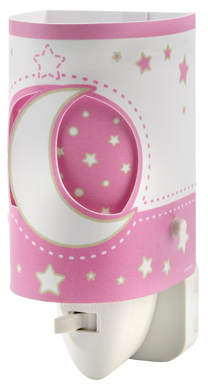 Dalber 63235ls Moon And Stars Luz Nocturna Luna Y Estrellas Rosa  ~ Leroy Merlin Lamparas Infantiles