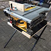 Dewalt Dwe7490x 10 Inch Job Site Table Saw With Scissor