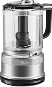 KitchenAid Refurbished 5-Cup One Touch Food Chopper | Contour Silver