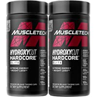 Weight Loss Pills for Women & Men | Hydroxycut Hardcore Elite | Weight Loss Supplement Pills | Weightloss + Energy Pills…
