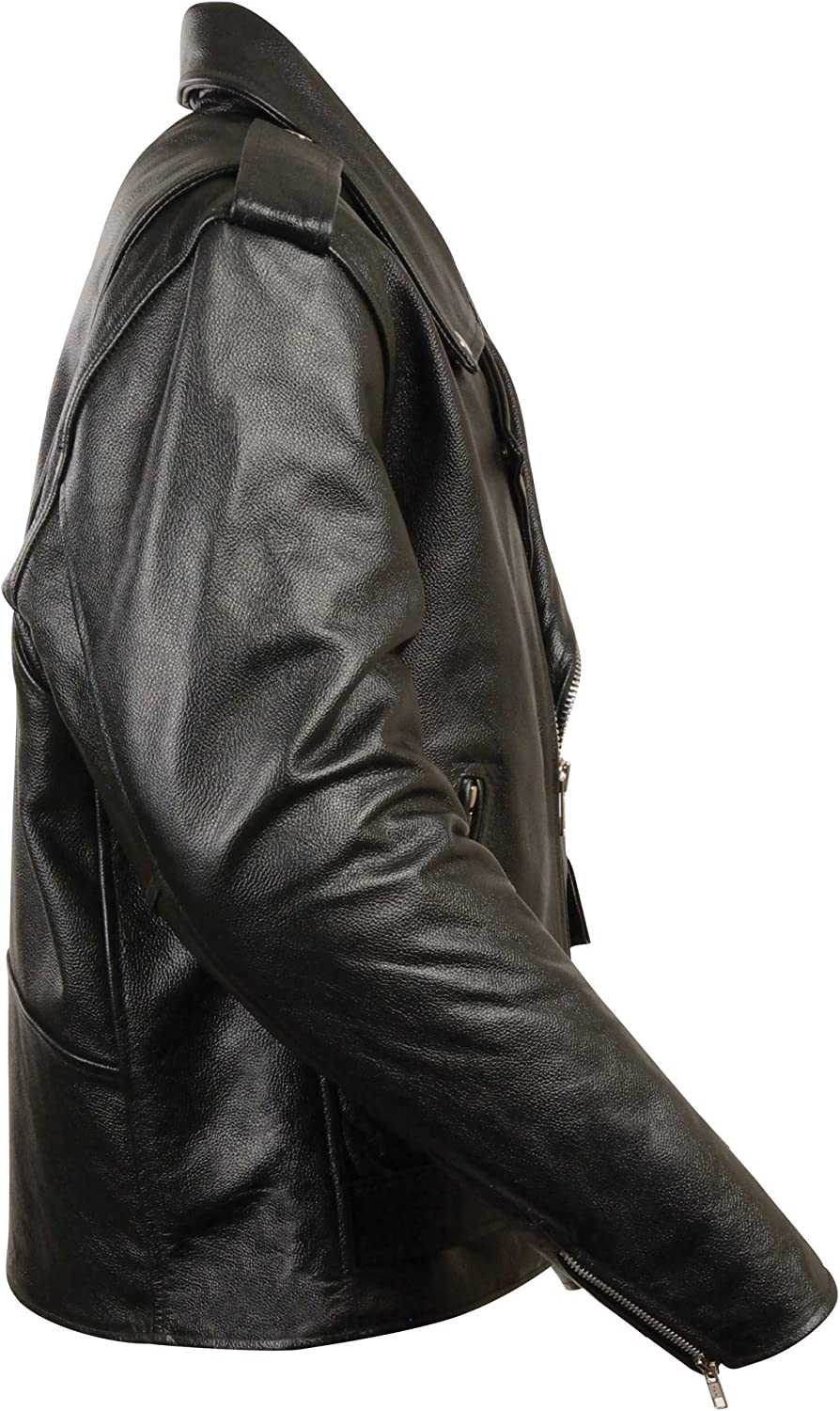 Youth Black, Size 34 Milwaukee Leather Boys Basic Motorcycle Jacket