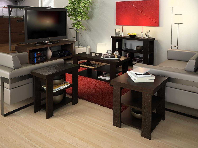 Amazon altra jensen console table espresso kitchen dining geotapseo Choice Image