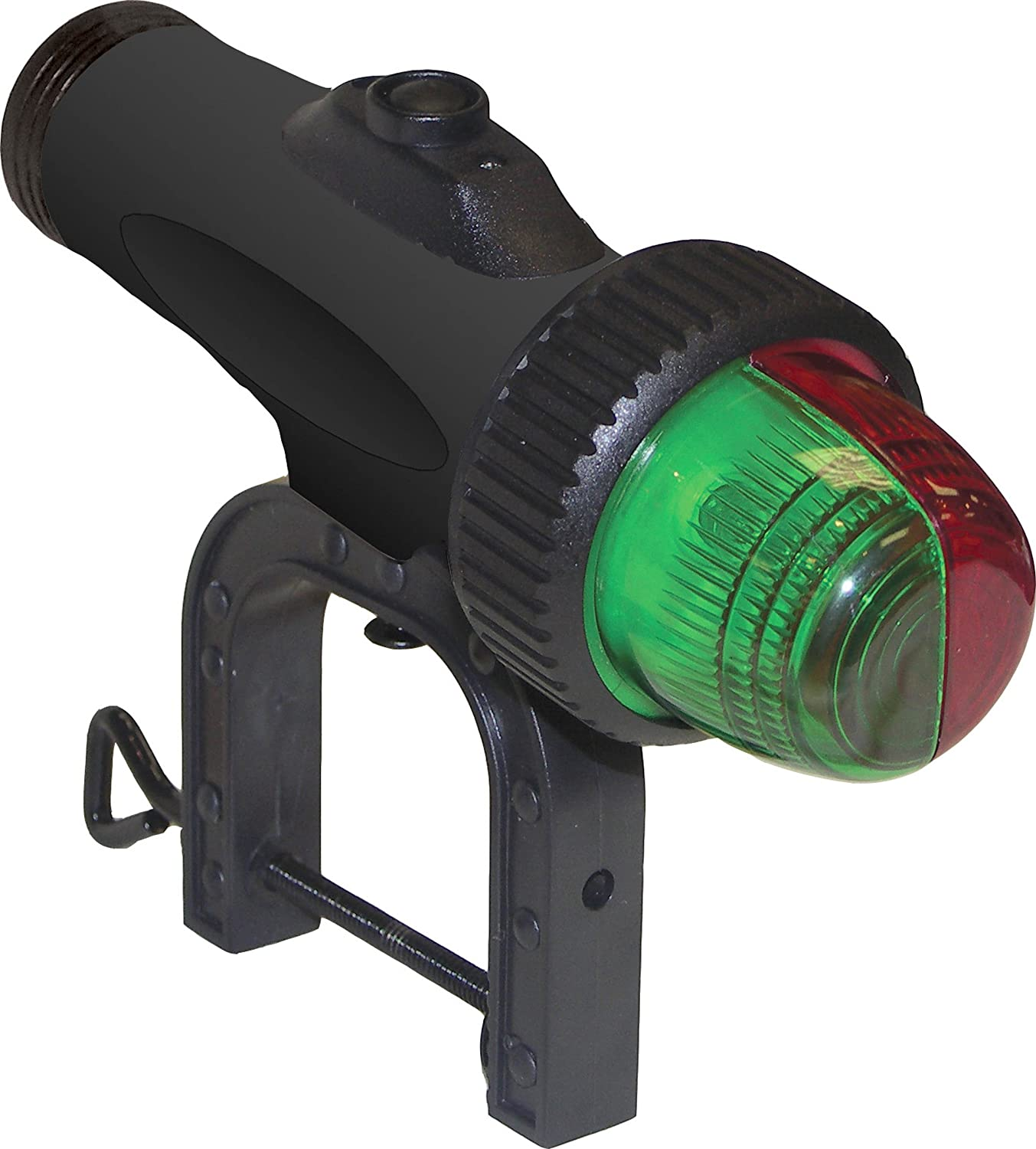 Shoreline Marine SL52103-X Bow Bi-Color Light Clamp-On (Red) South Bend 052103~M