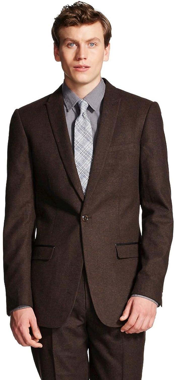 WD NY Black Men's Big & Tall Suit Jacket
