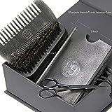 Beard Comb & Beard Brush Set, Authentic