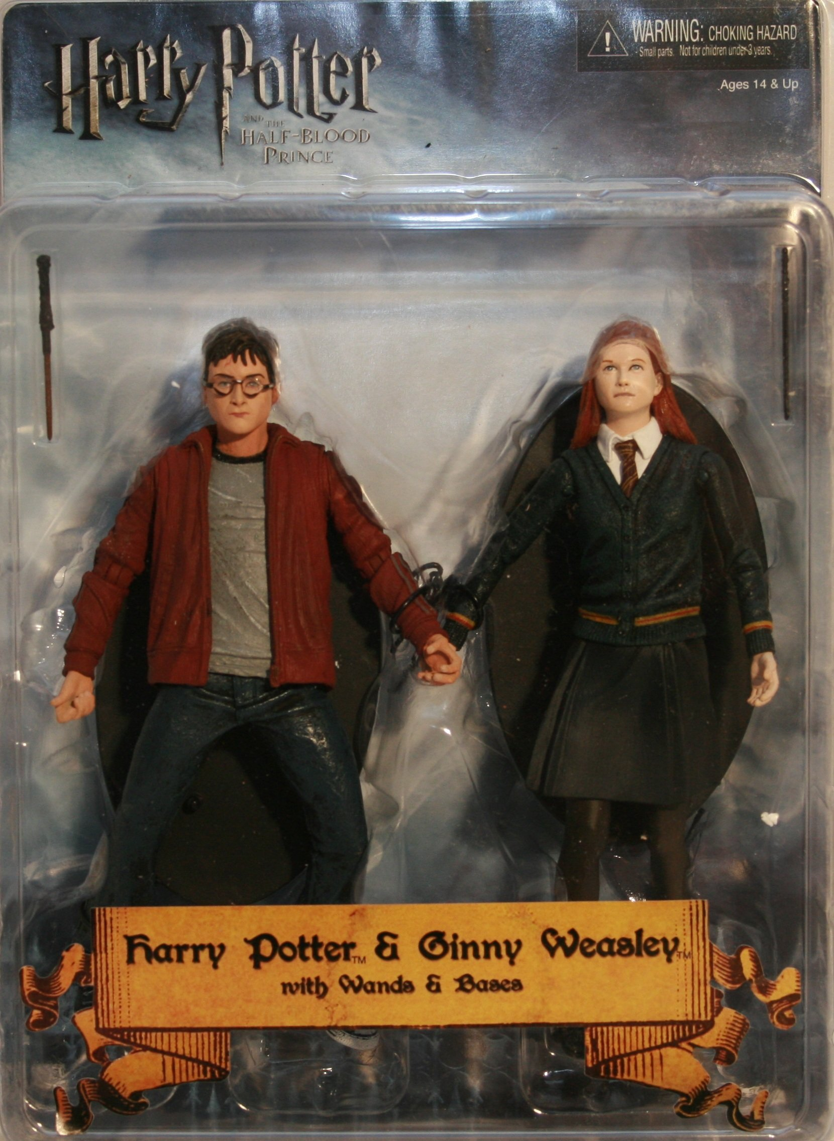 NECA Harry Potter and the Half Blood Prince 7 Inch Action Figure 2-Pack Harry and Ginny