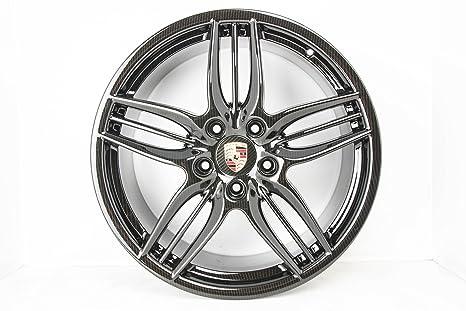 Original Porsche 911 991 carrera/Targa Llantas Juego brillian 20 pulgadas carbon NR
