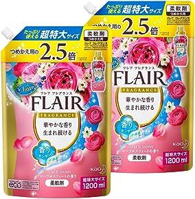 【まとめ買い】フレアフレグランス フローラル&スウィート 詰替用 1200ml×2個
