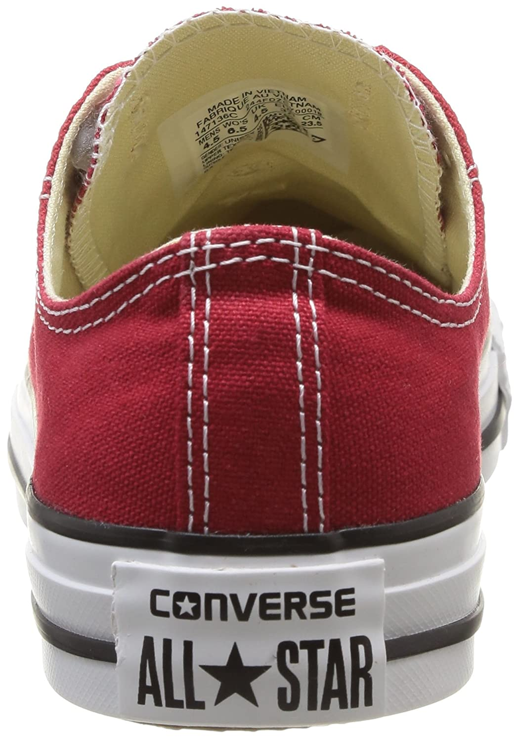 Chuck Taylor All Star, Baskets Hautes Mixte Adulte, Rose (Sunblush 623), 36.5 EUConverse