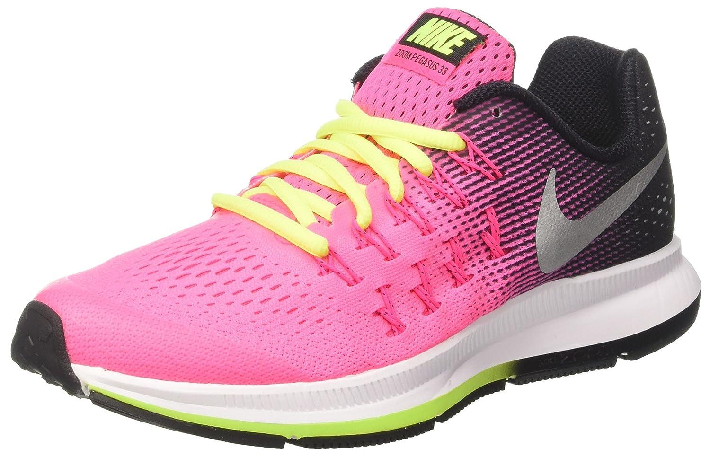 42bf21d46c Amazon.com | Nike Boy's Zoom Pegasus 33 (GS) Running Shoe | Running