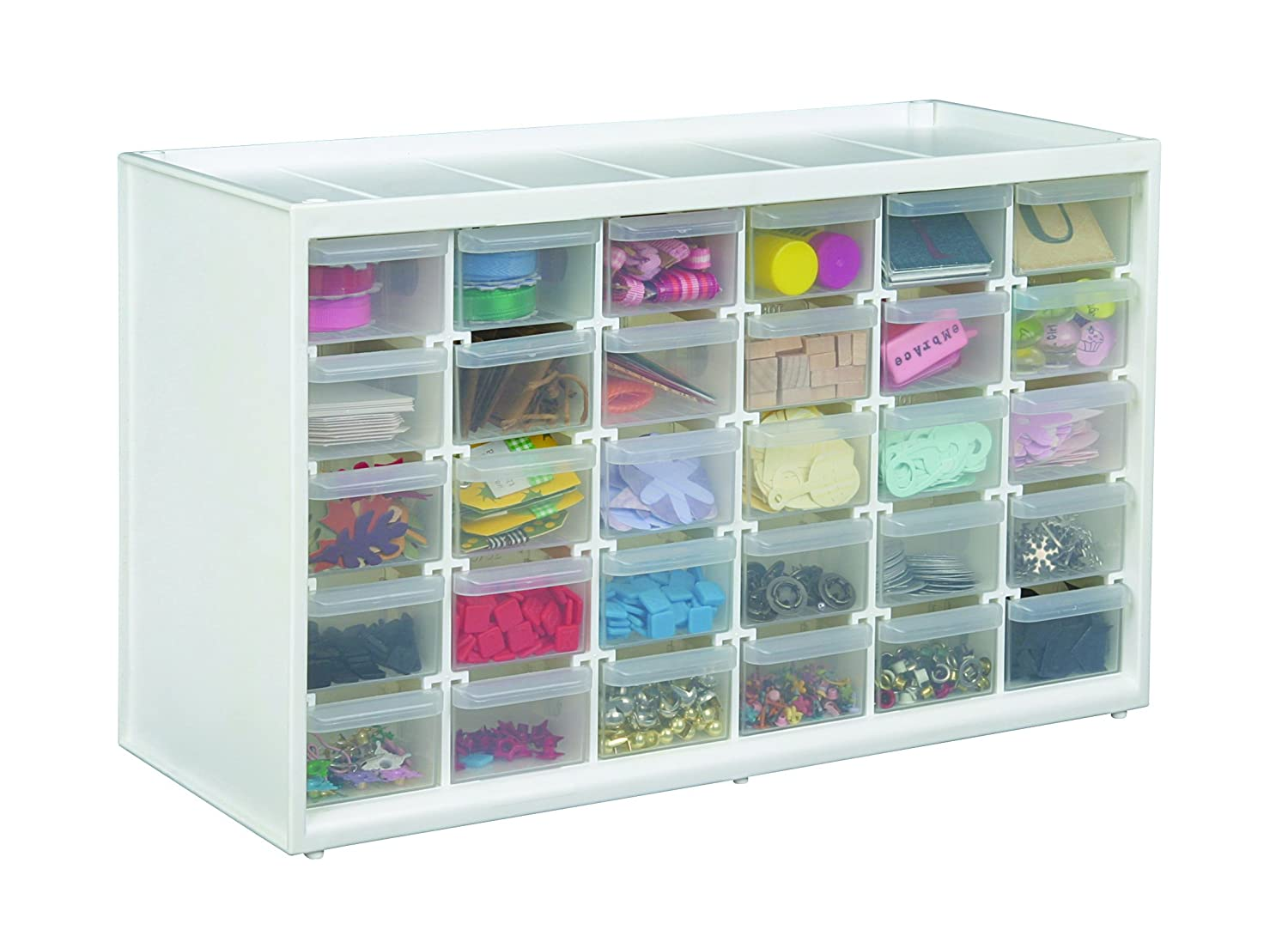 Amazon.com: ArtBin Store-In-Drawer Cabinet, 30 Art and Craft Supply ...