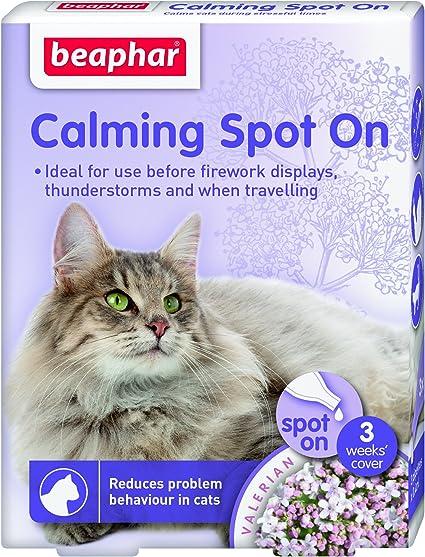 Beaphar Pipetas Calming Spot On para Gatos, 3 Unidades: Amazon.es: Productos para mascotas