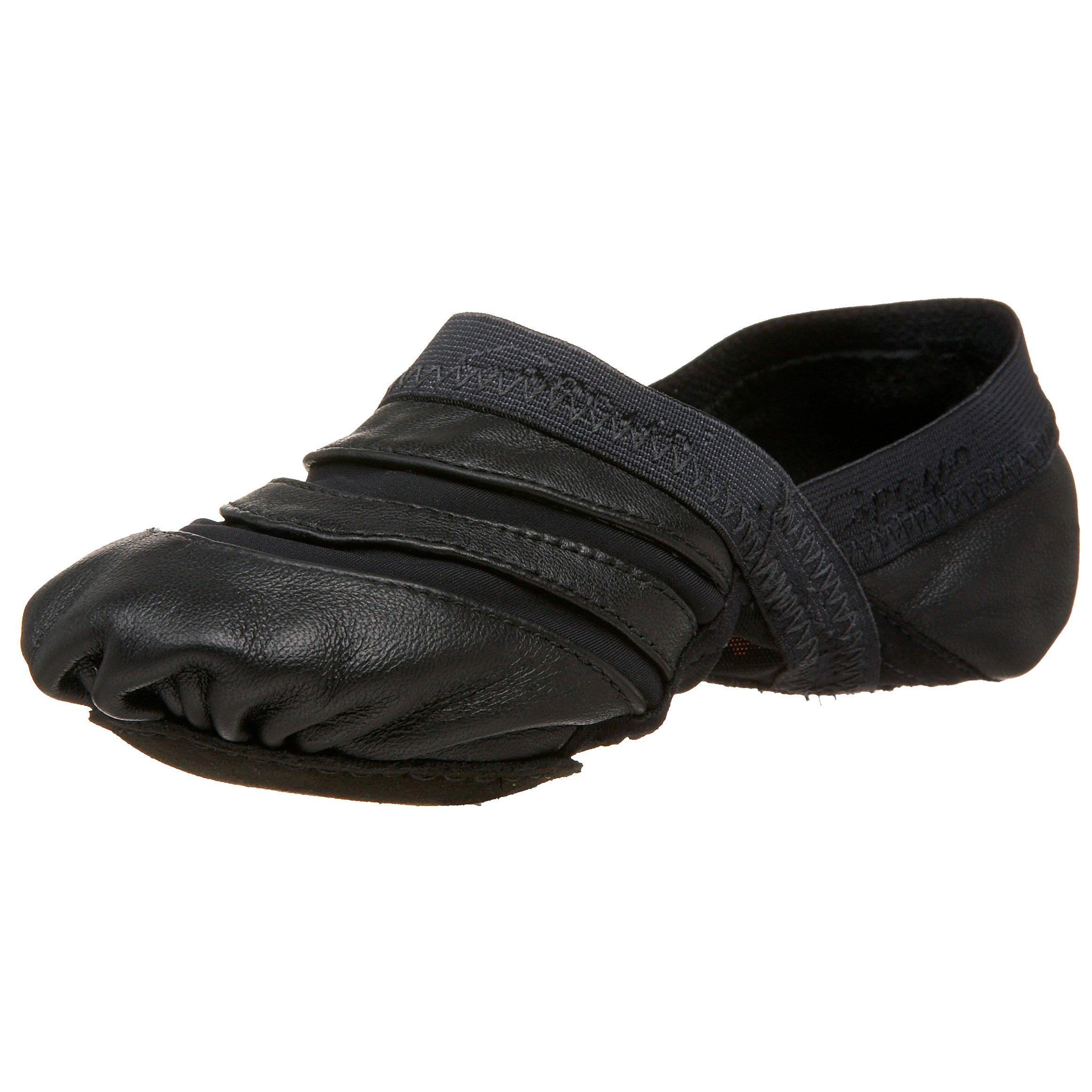 Capezio Women's Freeform Ballet Shoe,Black,10 M US