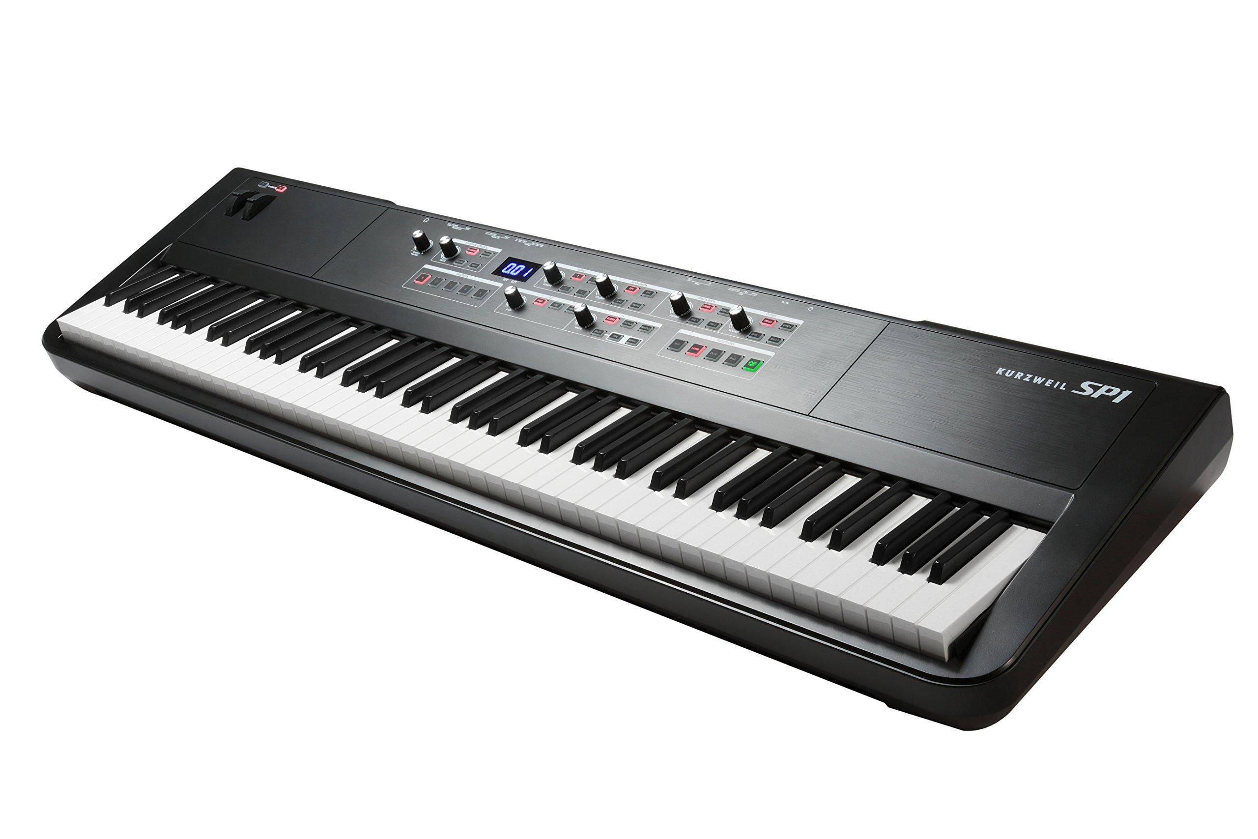 Kurzweil SP1 88-Key Stage Piano, Black (SP1-LB) by Kurzweil (Image #2)