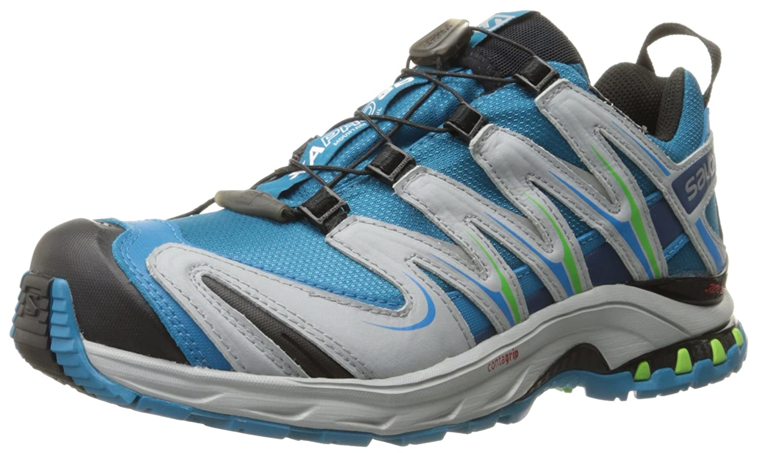 Salomon Women's XA Pro 3D CS Waterproof W Trail Running Shoe B00ZLN75C2 5 B(M) US|Fog Blue/Light Onix/Igloo Blue