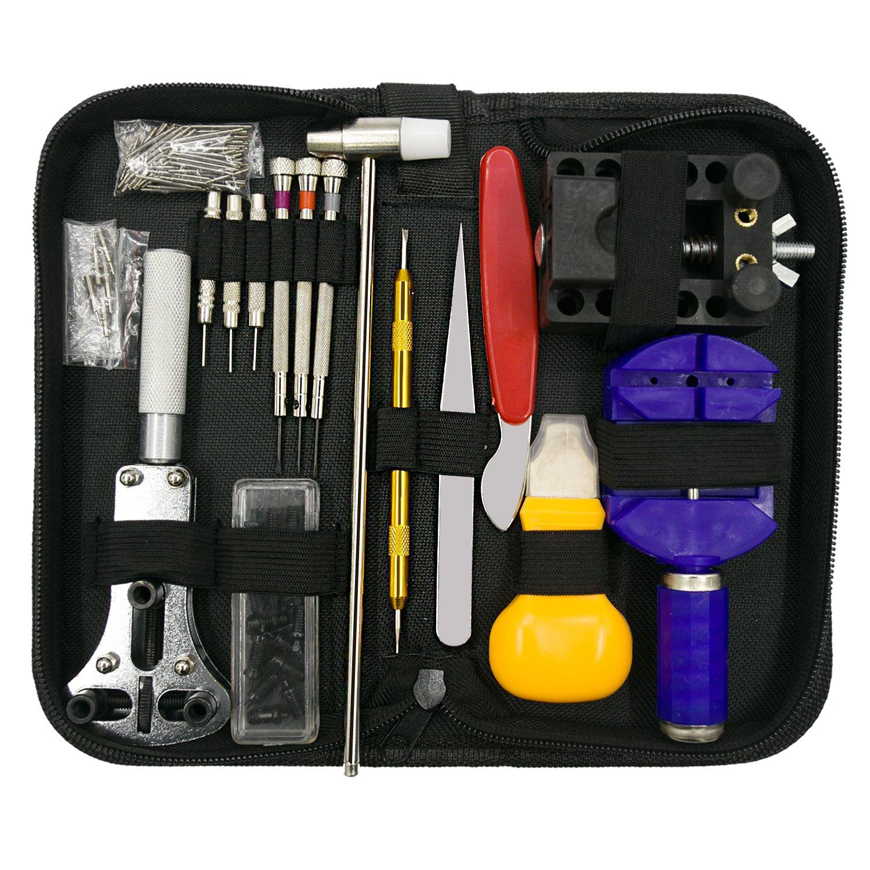 URXTRAL Profesional Kit de herramientas de reparación de reloj reloj de nuevo