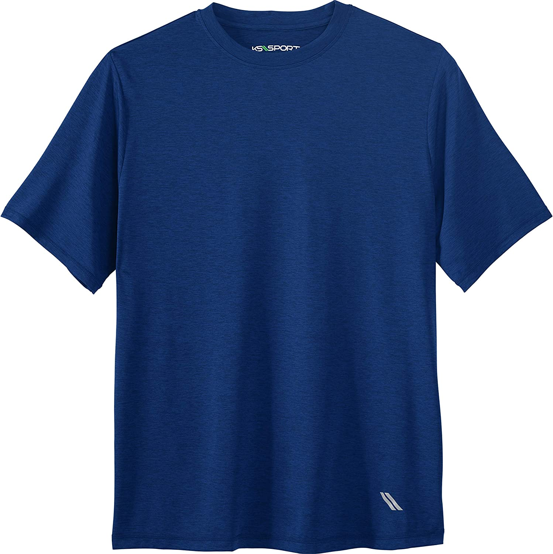 KS Sport by Kingsize Mens Big /& Tall Crewneck Tee Shirt