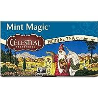 Celestial Seasonings Herbal Tea, Mint Magic, 20 Count (Pack of 6)