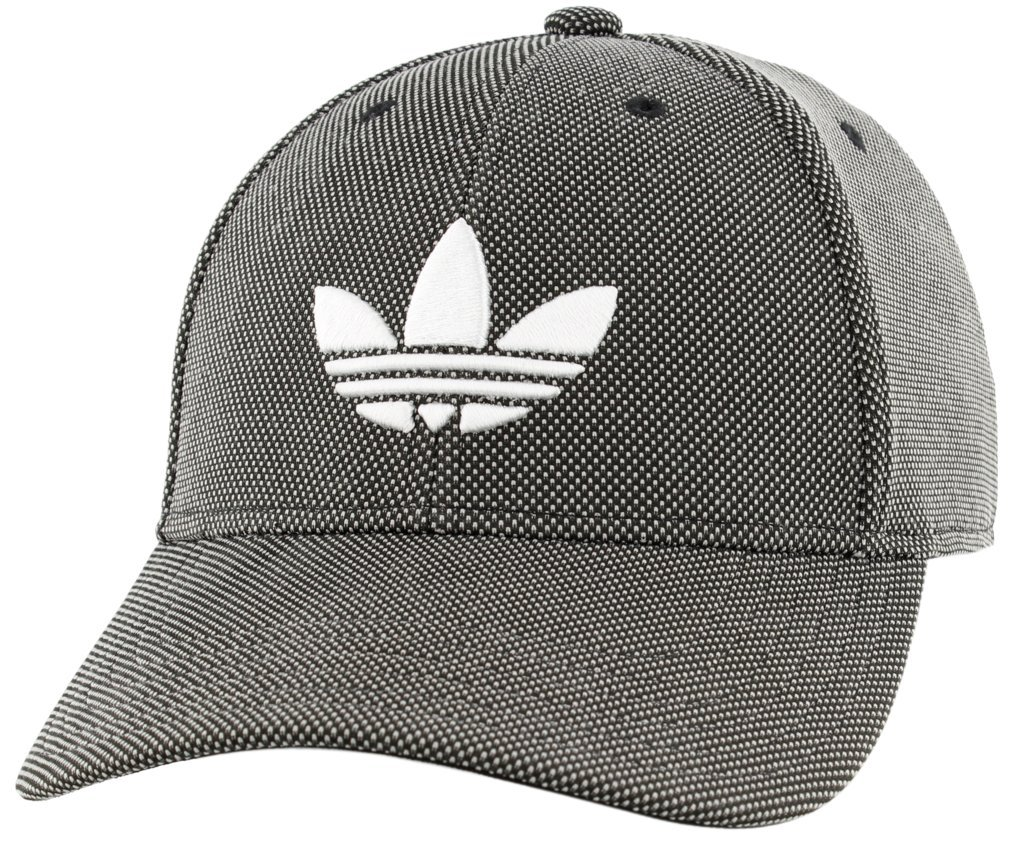 99d0897f adidas Men's Originals Trefoil Plus Precurve Structured Cap, Black Dot Knit/ White, One Size: Amazon.ca: Sports & Outdoors