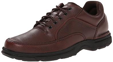 Men's Rockport Eureka Walking Shoes Brown 9W