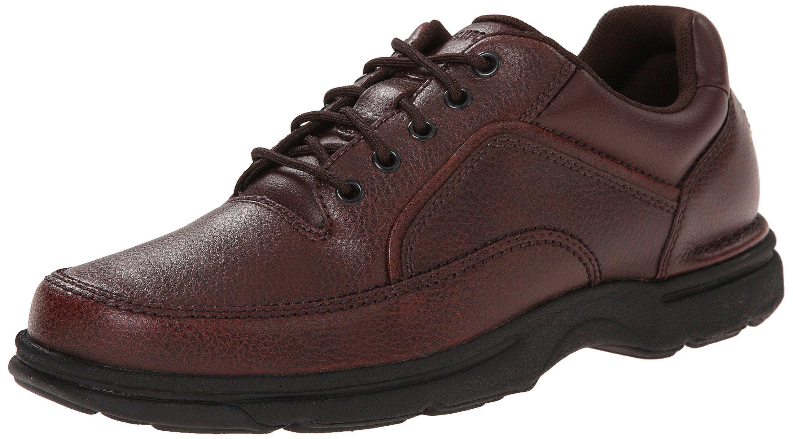 Rockport Men's Eureka Walking Shoe, Brown, 10.5 2E US by Rockport
