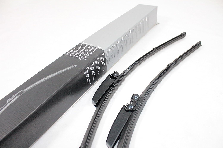 Genuine Factory OEM AUDI Q5 SQ5 Aero Windshield Wiper Blade Set Left /& Right 8R1998002