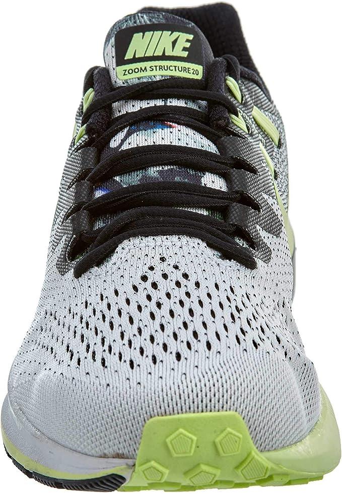 Nike Air Zoom Structure 20 Solstice Unidad para Hombre, Negro ...